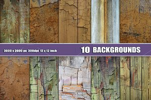 10 WOOD WALL TEXTURE BACKDROPS