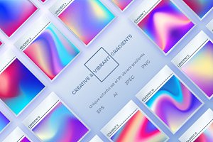 Creative & Vibrant Gradients Set