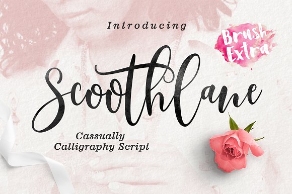 Scoothlane Script Brush