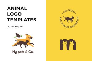 Animal Vector Logo Templates