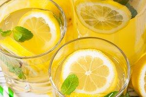 Lemonade Drink with Lemon Juice