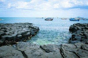 Rapids Of Stone Plates - Viet Nam