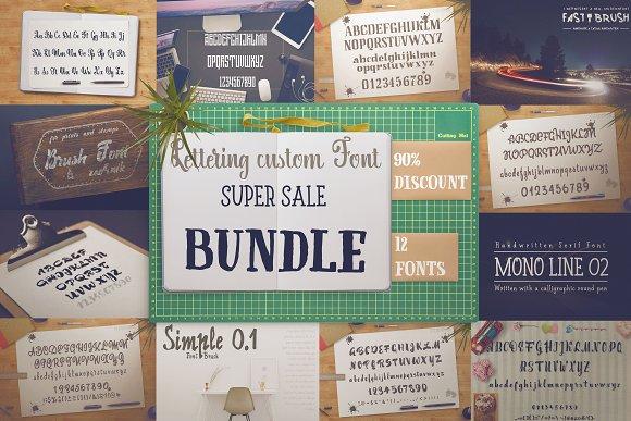 Bundle 90% OFF Font For Lettering