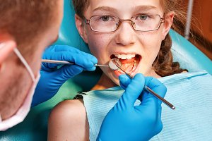 Examination by dentist