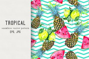 Tropical summer pattern