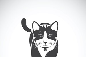 Vector of a cat. Pet Animal.