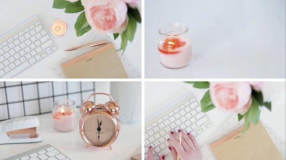 Instagram Video Rosegold Pink