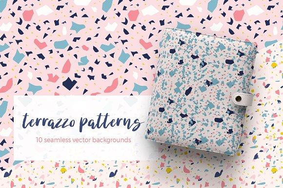 Whimsical Patterns Bundle Graphic Creative Market