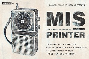 Misprinter for Adobe Photoshop