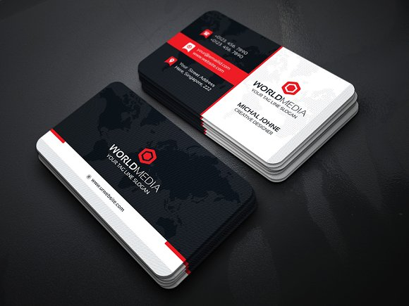 World Media Business Card