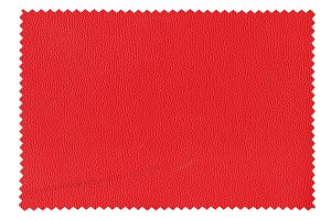 bordeaux leatherette sample isolated over white