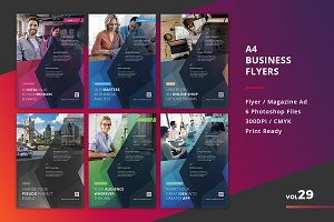 Corporate Flyer Templates 6PSD - #29
