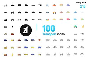 Transport icon - Friendly Design