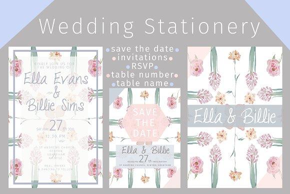 Fresh Bloom Wedding Stationery