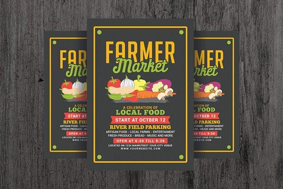 Farmer Food Market Flyer
