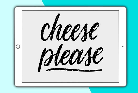 Cheese Please Procreate Brush