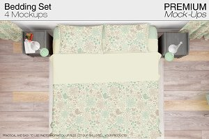 Bedding Mockup Set