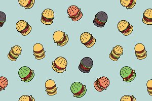 Burgers color pattern