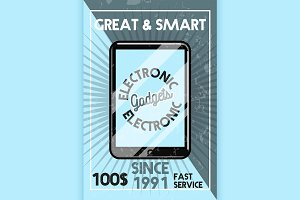 electronic gadgets banner