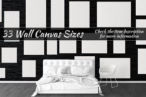 Canvas Mockups Vol 519