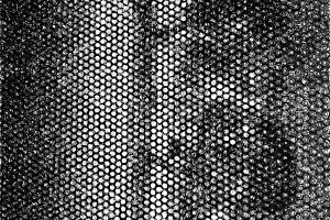 Black and white carbon dirty metal backdrop