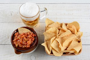 Beer, Chips and Salsa
