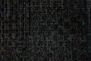 Digital networks maze pattern texture background