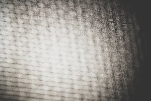 Horizontal black and white noise glow texture background