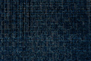 Digital networks blue maze pattern texture background