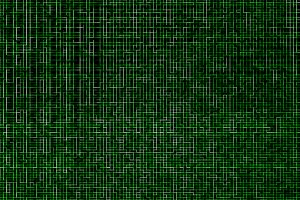 Digital networks green maze pattern texture background