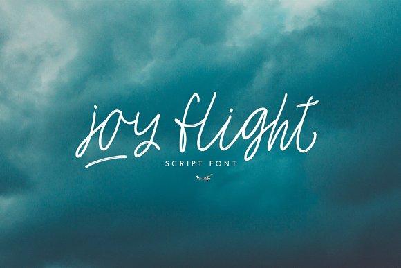 Joy Flight Script Font