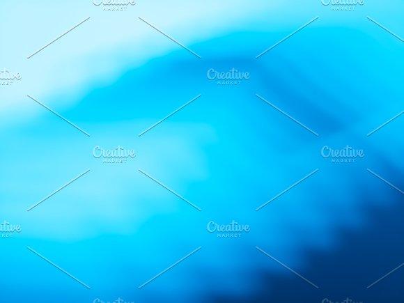 Diagonal Cyan Blue Bokeh Background