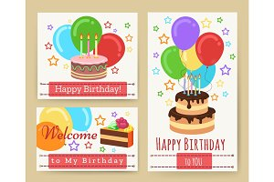 Birthday greeting card templates for kids