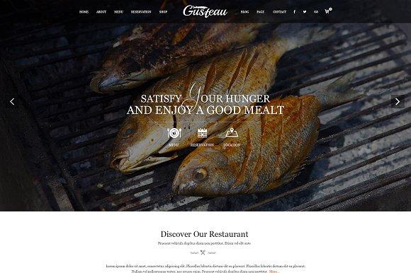 Gusteau Elegant Food Restaurant