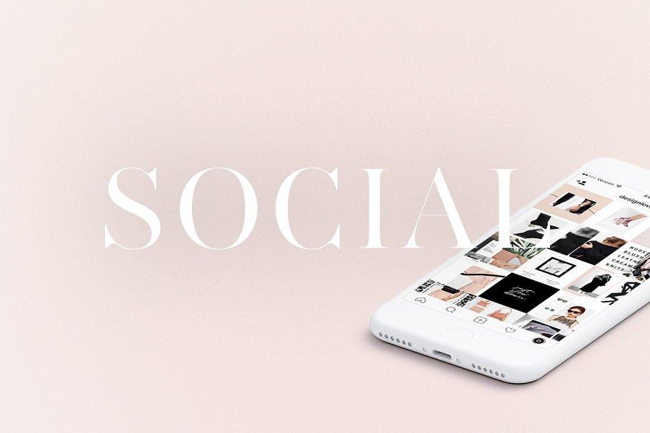 Instagram Social Pack