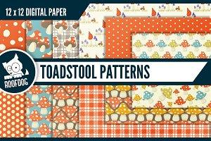 Toadstool digital paper
