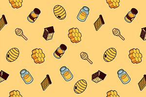 Honey pattern