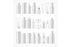 Big Cosmetic Bottles Set