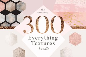 Huge Gold & Marble Texture Bundle