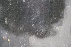 Silver-Gray Metallic Grunge Surface