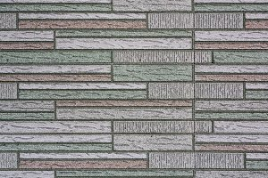 Rectangle-patterned tile texture