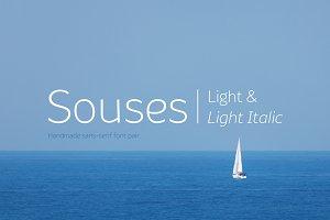 Souses—Light & Light Italic