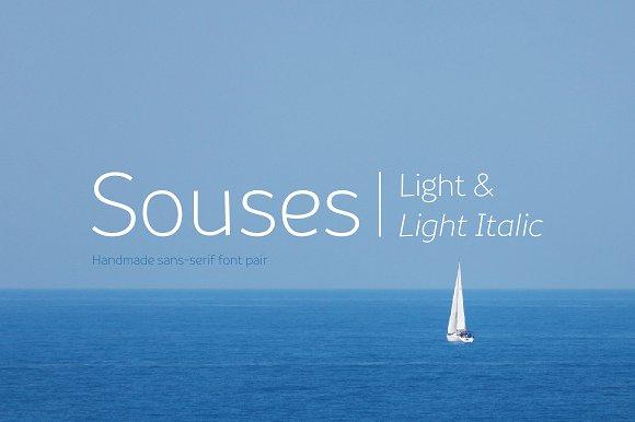 Souses-Light Light Italic