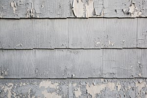 Paint Peeling off House Siding