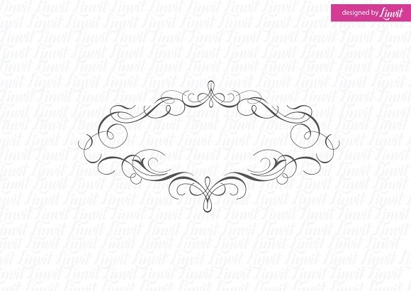 Calligraphic Wedding Monogram