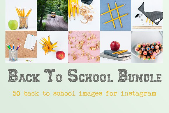Back To School Instagram Bundle