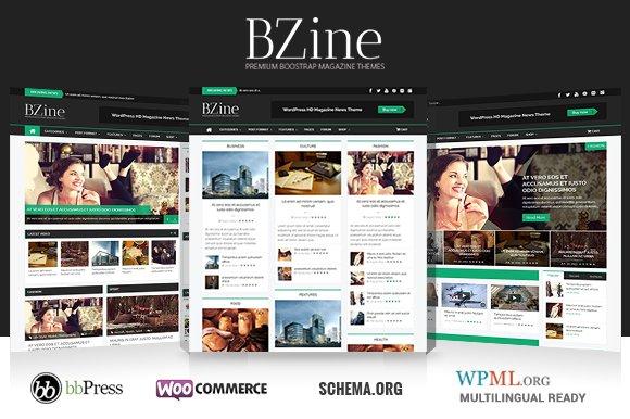 Bzine - WordPress HD Magazine