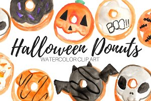 Halloween Donuts Clip Art
