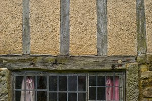 Detail of medieval house