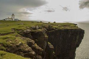 Shetland Eshaness Lighthouse